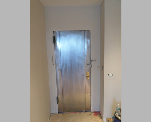 Capitol Fireproof Door Kalamein Two Seam Door Refinished-Bronx-NY