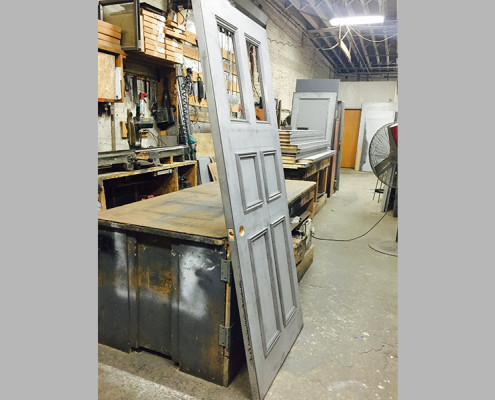 Capitol Fireproof Door Kalamein with Four Raised Moldings Hardware-Bronx-NY