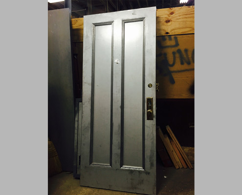 Capitol Fireproof Door Kalamein Apartment Door with Two Panels-Bronx-NY