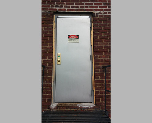 Capitol Fireproof Door New Door and Frame Installation - Wood Forms Attached-Bronx-NY