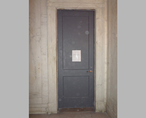 Capitol Fireproof Door Kalamein Two Panel Door with Angle Frame-Bronx-NY