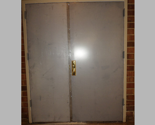Capitol Fireproof Door Pair Kalamein Doors with Astragal-Bronx-NY
