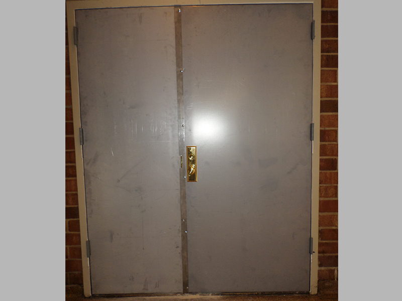 ... Capitol Fireproof Door Pair Kalamein Doors with Astragal-Bronx-NY ... : kalamein door - pezcame.com