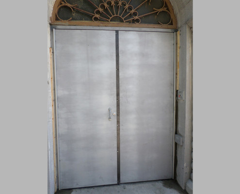 Capitol Fireproof Door Steel Astragal Hardware-Bronx-NY