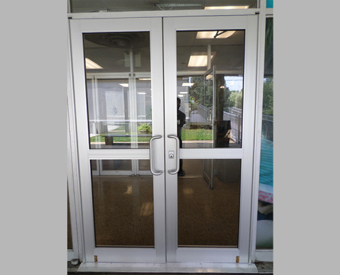 Capitol Fireproof Door Aluminum Entrance Door Pair-Bronx-NY