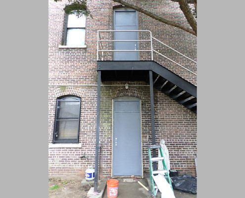 Capitol Fireproof Door Kalamein Fire Exit Door with Solid Transom-Bronx-NY