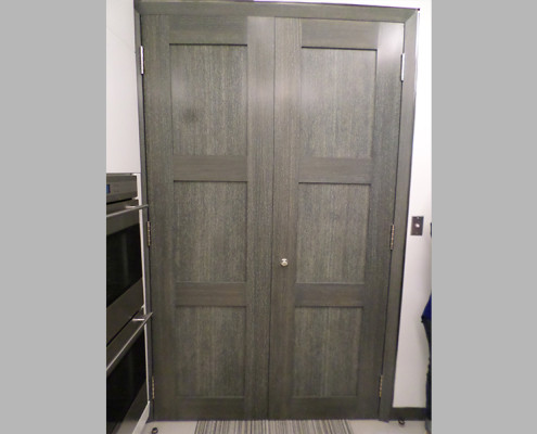 Capitol Fireproof Door Three Panel Wood Veneer Door-Bronx-NY