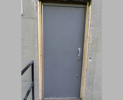 Capitol Fireproof Door Fire Exit Door with Masonry Installation-Bronx-NY