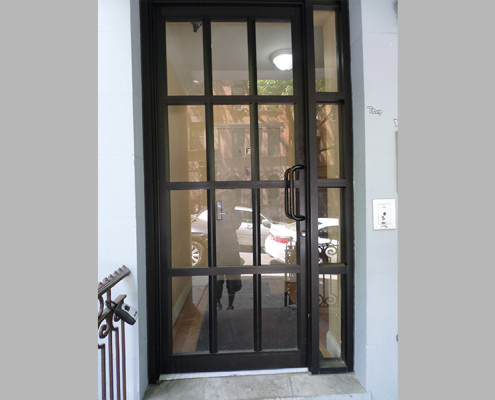Capitol Fireproof Door Duronotic Aluminum Building Entrance Door-Bronx-NY