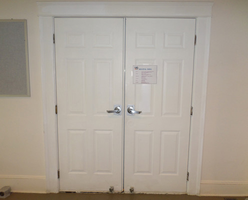 Capitol Fireproof Door Hollow Metal Six Panel Door Pair-Bronx-NY