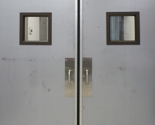 Capitol Fireproof Door Stainless Steel Pull Handles Hardware-Bronx-NY