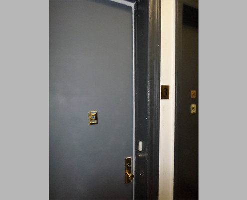 Capitol Fireproof Door Standard Chime Viewer Hardware-Bronx-NY