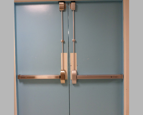 Capitol Fireproof Door Vertical Panic Top Rod Hardware-Bronx-NY