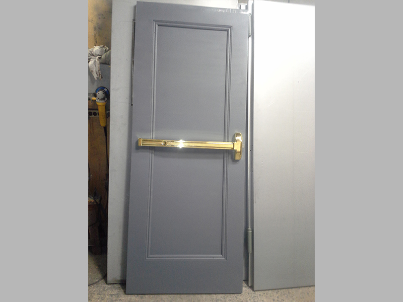 Capitol Firerpoof Door Kalamein Recessed Panel Fire Exit Door-Bronx-NY