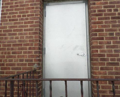 Capitol Fireproof Door Fire Exit Door with Masonry Frame-Bronx-NY