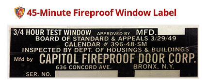 capitol-fireproof-window-label
